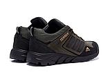 Мужские кожаные кроссовки Adidas Terrex Green (реплика), фото 5