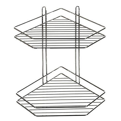 Полка в ванную угловая STENSON 20.5 х 20.5 х 33.3 см
