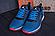 Кроссовки летние мужские сетка Jordan blue (реплика), фото 2