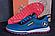 Кроссовки летние мужские сетка Jordan blue (реплика), фото 3