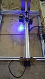 Лазерний гравер, гравер з ЧПУ, лазерний верстат, гравірувальний верстат 1 Вт. Поле 20*30 см, фото 3