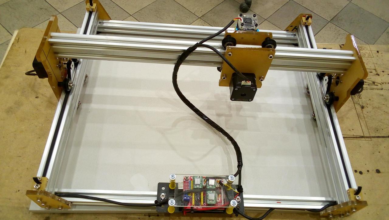 Лазерный гравер, гравер с ЧПУ, лазерный станок, гравировальный станок 1 Вт. Поле 20*30 см