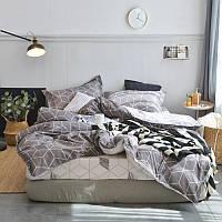 """Комплект постельного белья """"Куб"""" (двуспальный-евро), фото 1"""