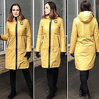 Дизайнерская Модель Пальто Плащ Демисезонная Куртка Fodarlloy Размеры S