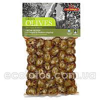 """Оливки зеленые с орегано и перцем буково """"ILIDA"""" 250 г"""