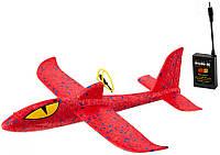 Літак Планер Метальний з Моторчиком