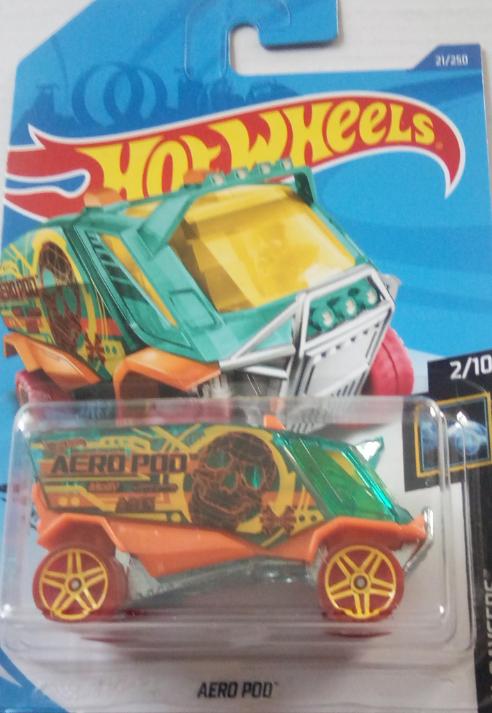 Машинка Hot Wheels 2020 Aero Pod