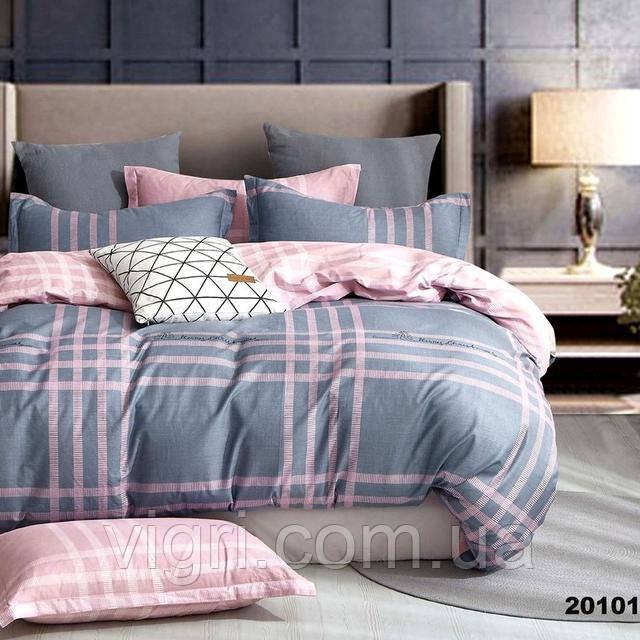 Постельное белье, двухспальное, ранфорс Вилюта «VILUTA» VР 20101