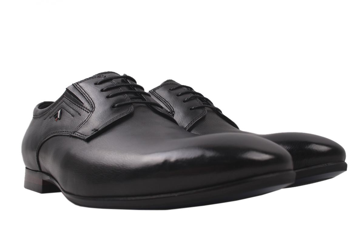 Туфлі чоловічі Cosottinni натуральна шкіра, колір чорний, розмір 39-45