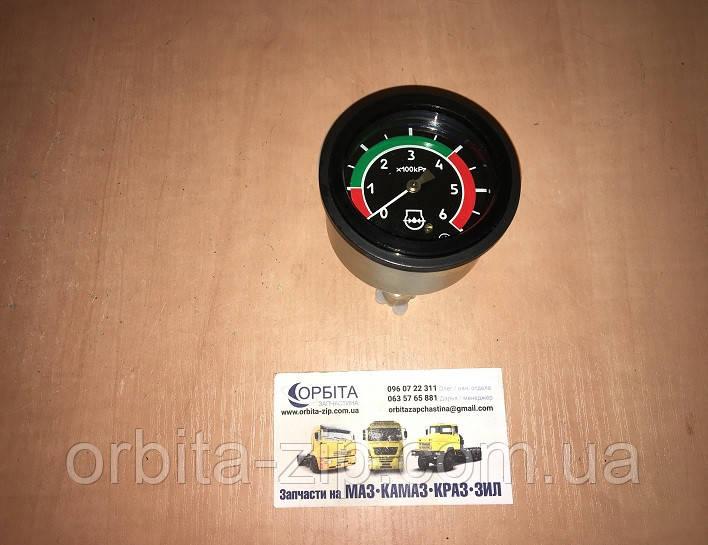 МТТ-6 Указатель давления масла манометр МТЗ 6 атм. (МД-219) (пр-во Беларусь)