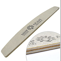 Пилочка для ногтей Мир Леди 240\240грит, серия стандарт серая