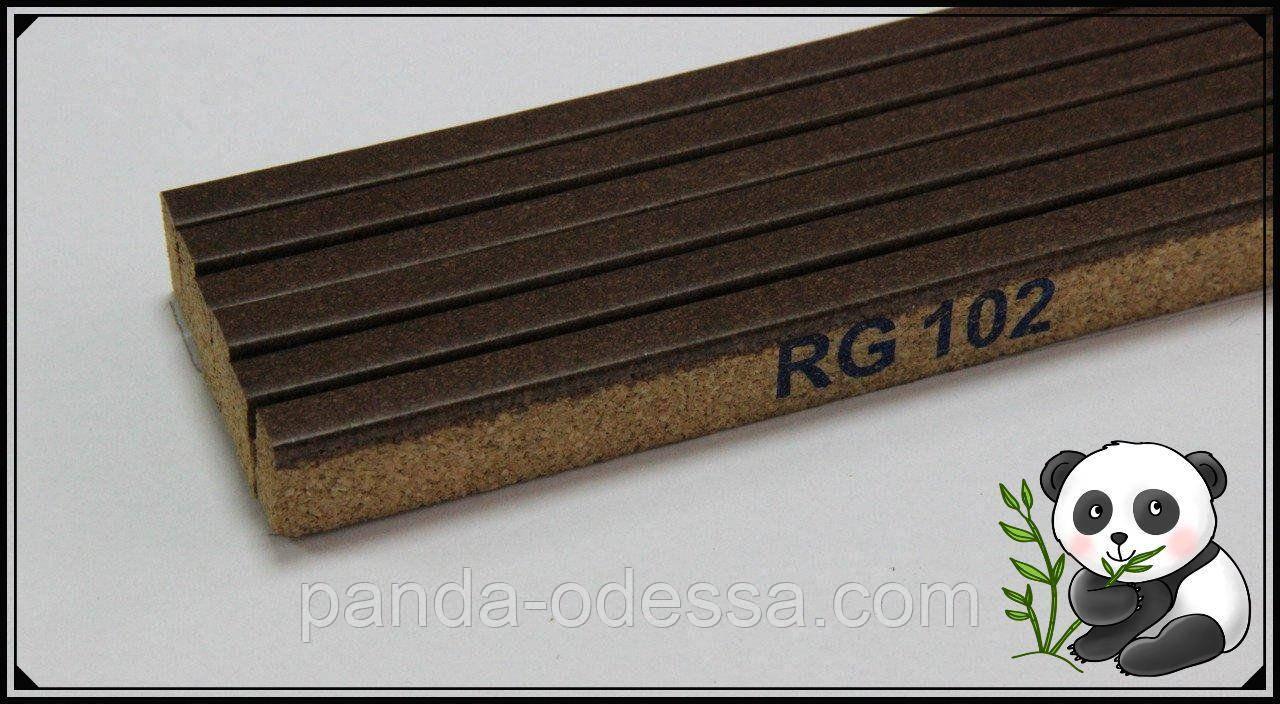 Корковий поріжок компенсатор Горіх 900х15х7мм RG 102