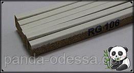 Корковий поріжок компенсатор Білий 900х15х7мм RG 106