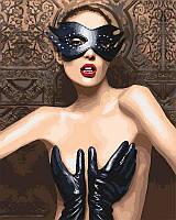 Картина по номерам Безумная и откровенная, 40x50 см, подарочная упаковка, Идейка (КН4683)
