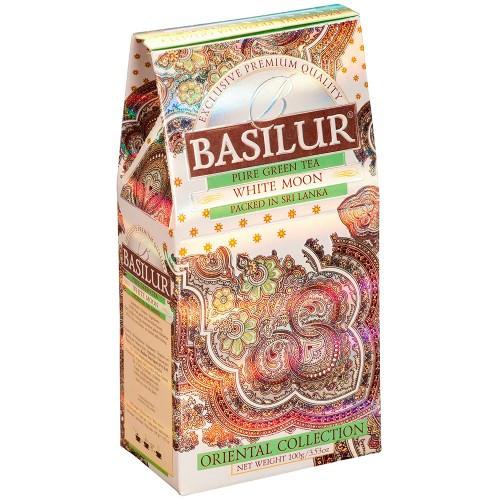 Чай зеленый Basilur Восточная коллекция Белая луна 100 грамм