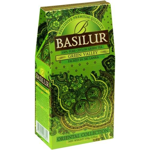 Чай зеленый Basilur Восточная коллекция Зеленая долина 100 грамм