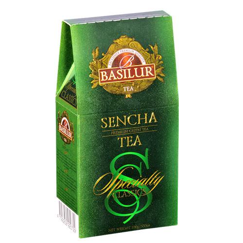 Чай зеленый Basilur Избранная классика Сенча 100 грамм