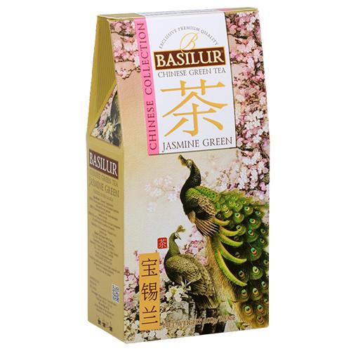Чай зеленый Basilur Китайская коллекция Жасмин Зеленый 100 грамм