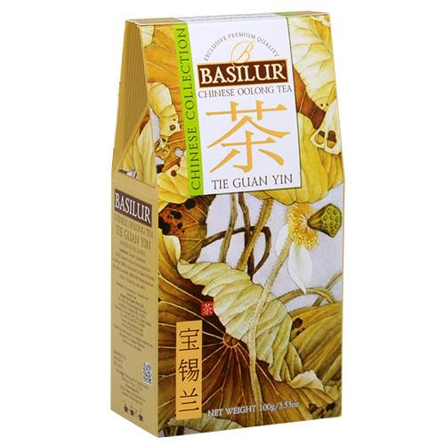 Чай зеленый Basilur Китайская коллекция Те Гуань Инь 100 грамм