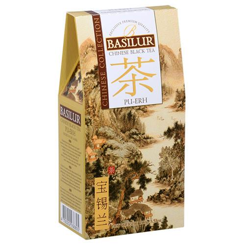 Чай черный Basilur Китайская коллекция Пу-эр 100 грамм