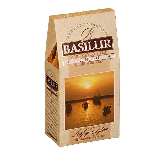 Чай черный Basilur Лист Цейлона Рухуну 100 грамм