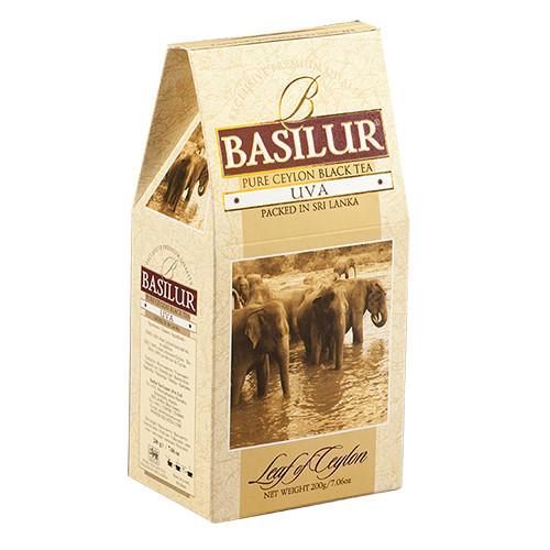 Чай черный Basilur Лист Цейлона Ува 100 грамм