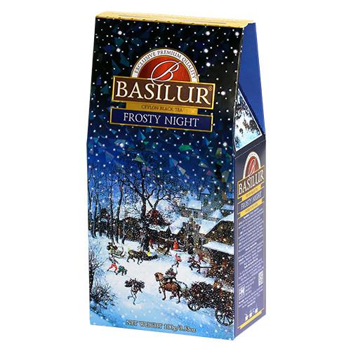 Чай черный Basilur Подарочная коллекция Морозная ночь 100 грамм