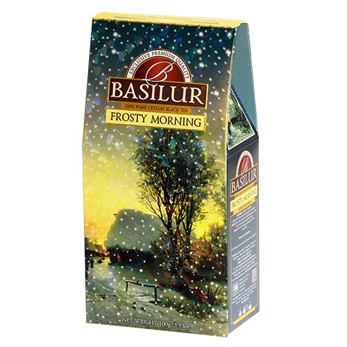 Чай черный Basilur Подарочная коллекция Морозное утро 100 грамм