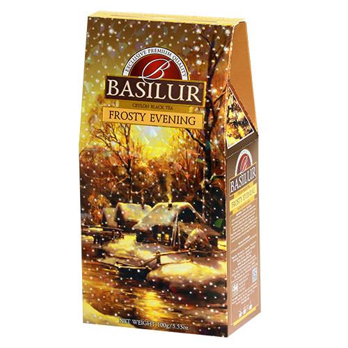 Чай черный Basilur Подарочная коллекция Морозный вечер 100 грамм