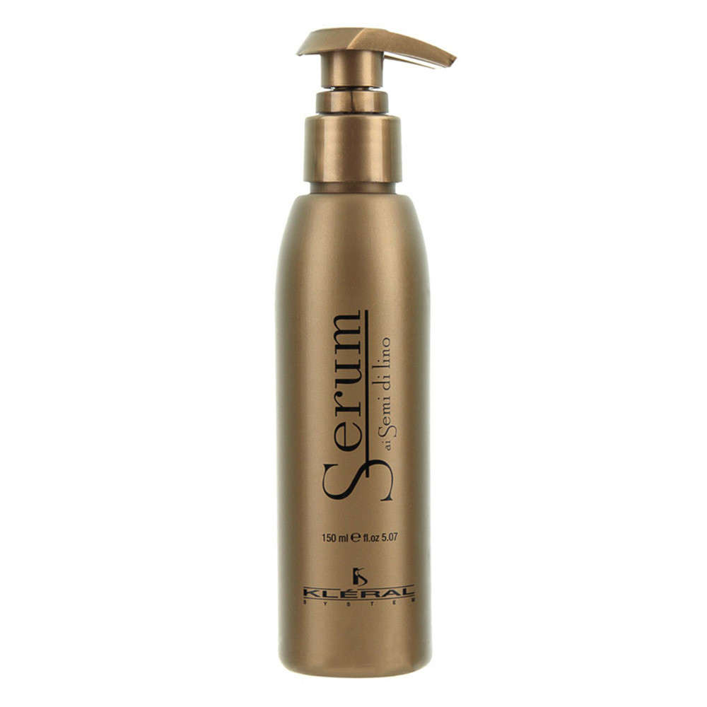 Флюид для волос с экстрактом льна Kleral System Semi Di Lino Serum 150 мл