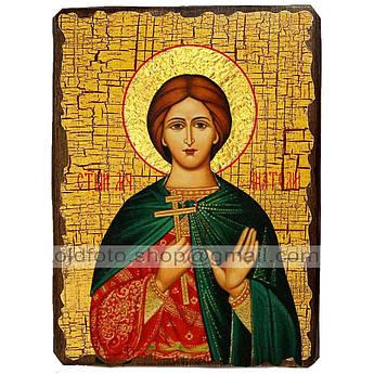 Икона Анатолий Святой Мученик Никейский ,икона на дереве 130х170 мм