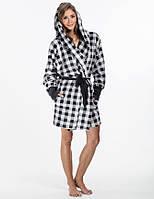 Домашний женский халат EVA (S/M, L/XL в расцветках)