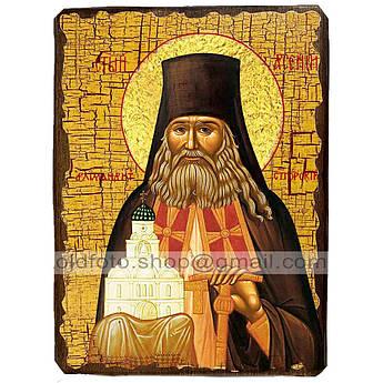 Икона Арсений Святой Преподобный Святогорский ,икона на дереве 130х170 мм