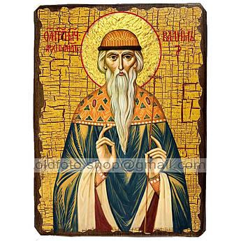 Икона Вадим Святой Мученик Персидский ,икона на дереве 130х170 мм