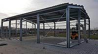 Конструкция стальная, оцинкованная, Склад, сервис, Ангар 10х20х4 м