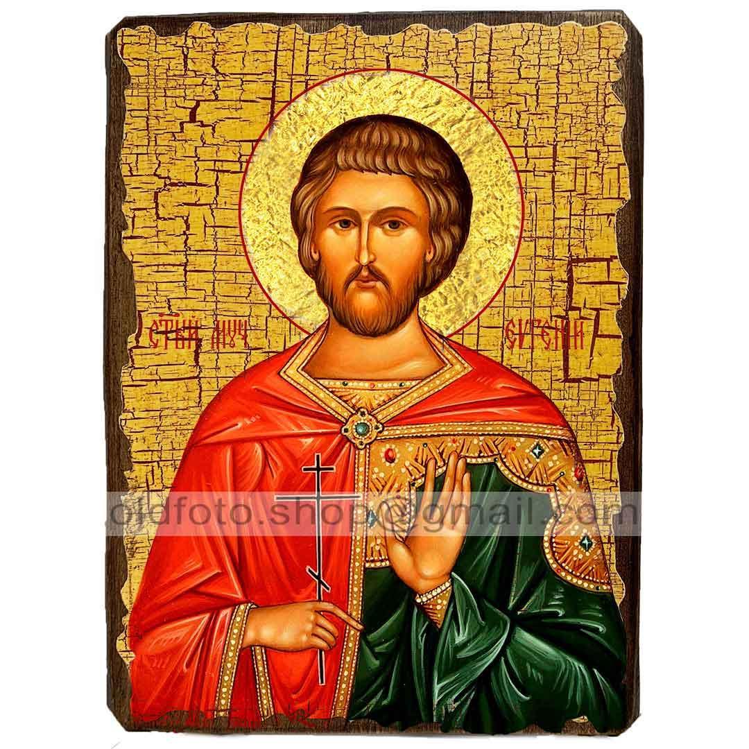 Ікона Євген Севастійський (130х170мм)