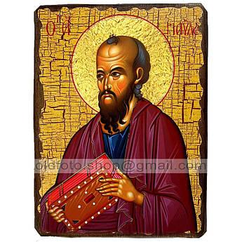 Икона Павел Святой Апостол ,икона на дереве 130х170 мм