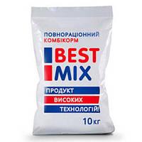 Откормочный комбикорм Best Mix для кроликов с увеличеным количеством клетчатки, 10 кг