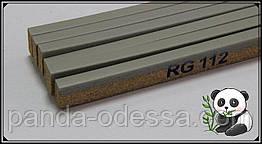 Корковий поріжок компенсатор Сірий 900х15х7мм RG 112
