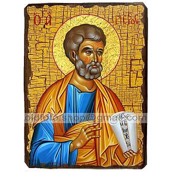 Икона Петр Святой Апостол ,икона на дереве 130х170 мм