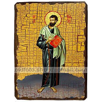 Икона Тимофей Святой Апостол  ,икона на дереве 130х170 мм