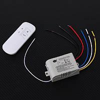 Дистанційний вимикач освітлення (3 канали) з пультом, фото 1