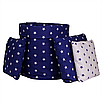 Подушка, 30*30 см, (бавовна), (зірочки на синьому), фото 2