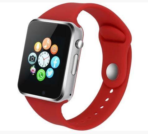 Розумні годинник Smart Watch GSM Camera A1, червоні