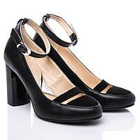 Туфли La Rose 2136 36(24,2см) Черная кожа