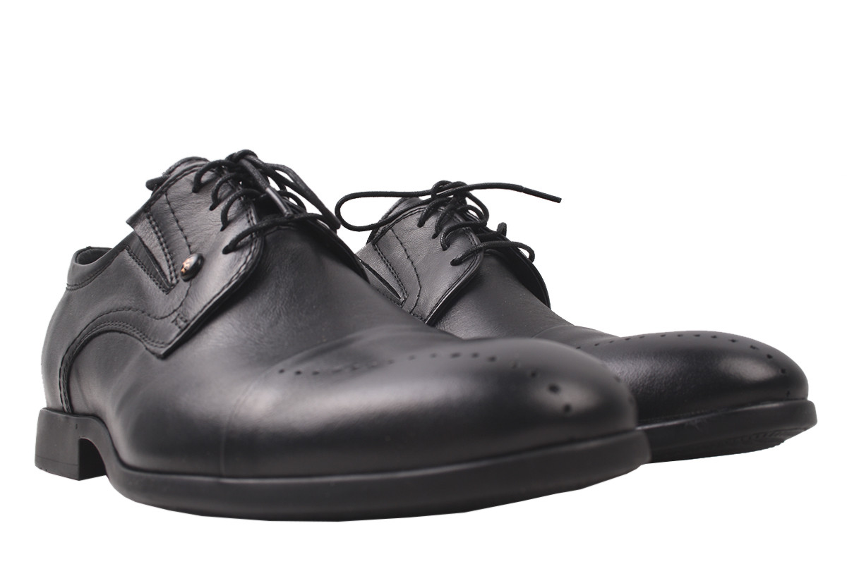 Туфлі чоловічі Vadrus натуральна шкіра, колір чорний, розмір 39-44 Україна