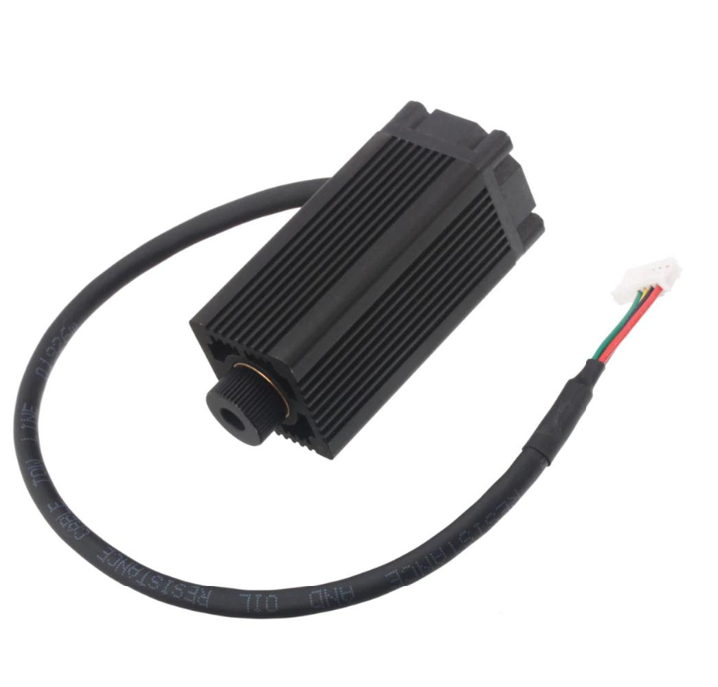 Лазерный модуль 3500 мВт. Лазер 3,5 Вт. Лазерная головка. TTL - в комплекте