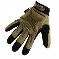 Перчатки Mechanix Wear полнопалые Tan, фото 1