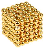 Неокуб Neocube 216 шариков 5мм в боксе Gold