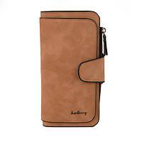 Женский кошелек клатч портмоне Baellerry Forever N2345 коричневый